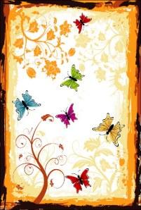 405-Fluturi si Flori