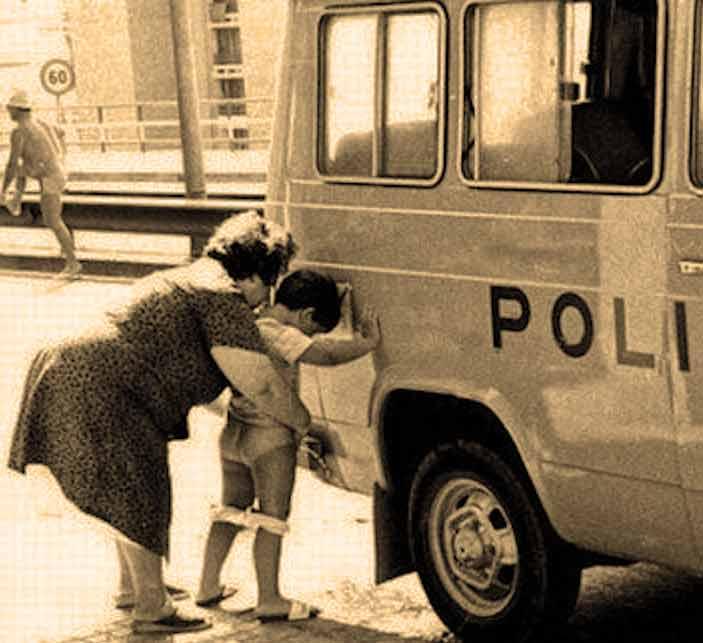 pipi masina politie