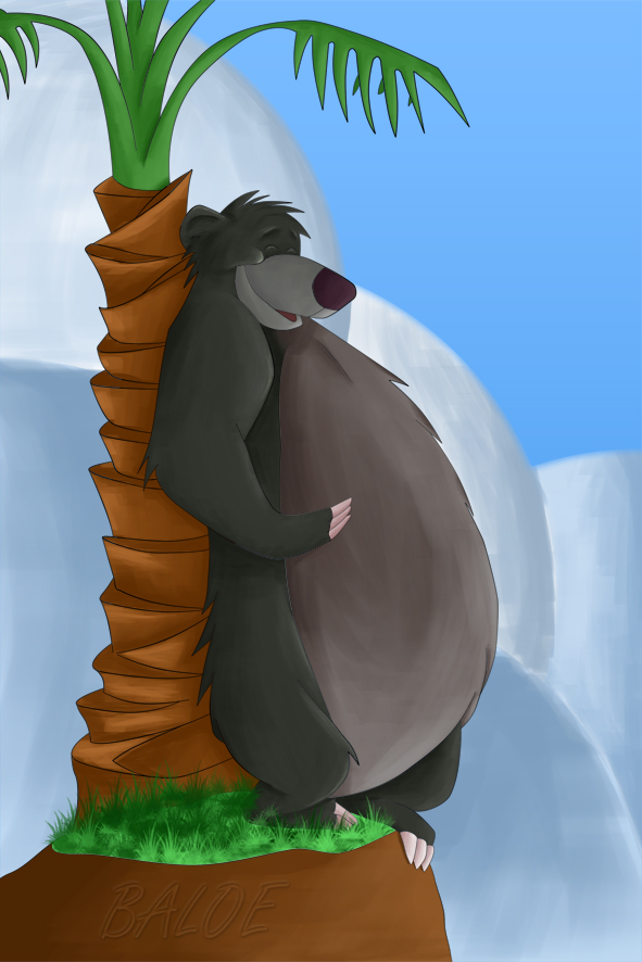 Baloo_The_Bear_Poster_by_T_akumi